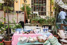 finissage DEBALLAGE cha cha cha!!! / flea market and CHA CHA CHA party in our secret yard in Milan! solamentegiovedi.com