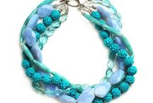 Beaded and Buttoned Jewelry, etc / by Treasured Designs, LLC