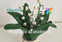 Virágok, növények horgolva