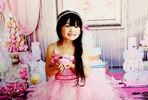 Fancy Pink Princess Birthday / This is my style concept birthday