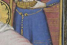 Stroje kobiece w sredniowieczu