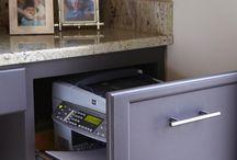 nyomtató az asztalban