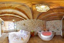 Casa Relax 2016 / Casa rural ecológica con jacuzzi en la habitación y suelo radiante en la planta baja.