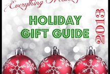 Holiday Gift Guide 2013 / Wonderful Gifts with reviews for the 2013 Holiday Season / by Everything Mommyhood
