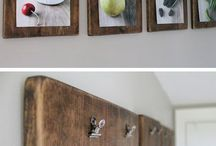 Display Ideas / Simple methods to exhibit art, photos, and allow change easily.
