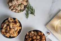cashews coated honey and sesame seeds cash