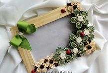 Quilled Frames