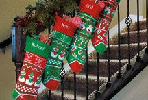 Personalized Christmas Stockings / Perfect Christmas stockings for your whole family. Decorate your mantel and even find unique ways to hang a Christmas stocking! / by Lillian Vernon