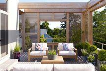 Inspiracje - modern garden
