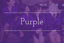 Purple palette inspiration / Purple color palette wedding inspiration