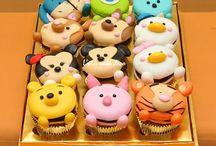 CupCakes Deliciosos / Deliciosos Cupcakes temáticos...quem tem festas de anos brevemente, busque aqui ideias..