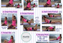 Pilates at Home / Pilates workout you can do at home by yourself.
