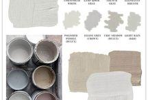 Paint colors / Different colors of paint