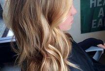 degrade de color en el pelo