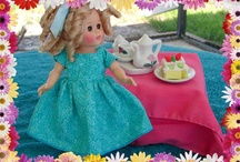 Clothes for Ginny or Madame Alexanderkins and other small dolls / Handmade doll clothes for my favorite little friends