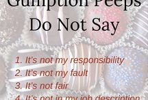 Gumption / Personal Responsibility / Personal Responsibility, Living Your Life with Gumption