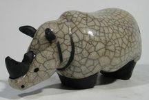 Neushoorn raku