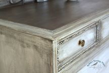 Faux Stain Finish