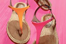 Klip klap sandaler