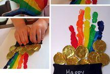 St. Patricks day crafts for work