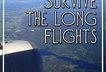 How to survive international flights / by Doreen Llerena