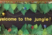 pre K jungle/safari/zoo
