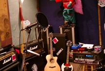 HOME-Music Room / Designing our basement music room, a special stage for the 4 boys to jam & practice their music.