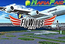 Flight Simulator FlyWings 2017 HD Apk + Mod (a lot of money / Unlocked) + Data for android