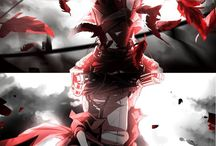 Eren y Mikasa
