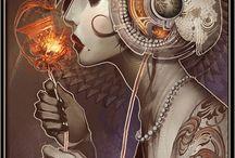 Steam punk art and fashion / Steam punk art and fashion / by Jo Termine