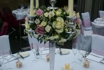 Candelabras wedding flowers        Centerpieces vintage, shabby chic, modern and Jaw-Droppingly Beautiful Wedding Centrepieces / Wedding flowers room set up with candelabras