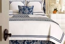 Blue and White Interior / Coastal Chic style / by Lori