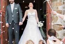 Mariage dans un petit village breton