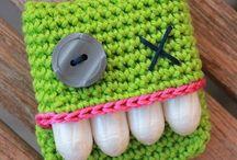 Häkeln - Taschen / crochet bags / große und kleine Taschen für dies und das gehäkelt