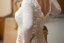 Wedding Dress / Wedding Dress, Lace, Size 10