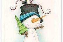 рождество открытки для пряников