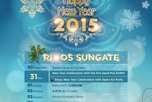 New Year 2015 / After fun-filled 2014,New Year's Eve celebration 2015 is waiting you to fit all tastes at Rixos Sungate.. For reservation:http://bit.ly/1sYBGOE
