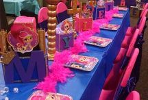 shimmer and shine birthday ideas