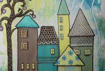 artistikando di adele tarasco / pittura cucito creativo