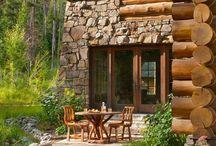 Ξύλινα  σπίτια...!!!!!