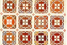 Antique Quilt / Way back then when people makes quilts - they just simply make amazing quilts!!!! so I have to create boards especially for that kind of quilt