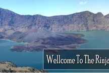 Rinjani Mountain / A very beautiful mountain which is located in the Lombok island of Indonesia