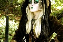 Mythical/amazing make-up / Make-up on steam punks and mythical creatures