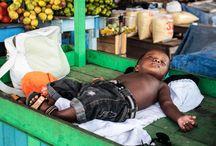 Child Relationship and Work. Relação Criança e Trabalho. Photographer: Luxã Nautilho