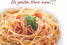 Its pasta time now