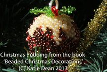 Christmas Beading Projects / These are bead designs I have created for Christmas - they are all available in either one of my beading books or as a pattern on my website
