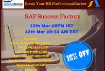 Attend FREE DEMO SAP‬ Success Factors Online‬ Training‬ from ‪‎AcuteSoft‬