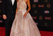 Bronlow 2016 / This year we had the absolute please of dressing the beautiful Linda Weatherlake, partner of Jack Ziebell of North Melbourne and Jerri Jones, Partner of Melbourne captain Nathan Jones.