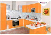 Kuchenna radość / Ciepłe, energetyczne kolory doskonale sprawdzą się w kuchni :). Dzięki nim zachowasz odpowiedni przepływ energii.