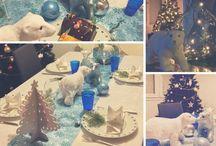Tables de Noël des clients Mesa Bella